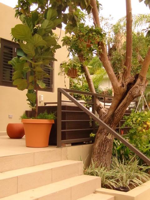 Villa Caparra tropical-patio