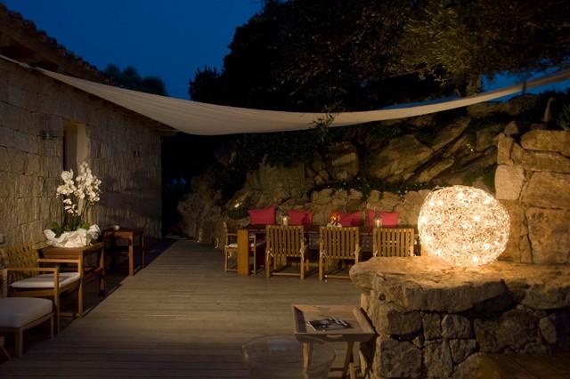 Villa in Sardinia contemporary-patio