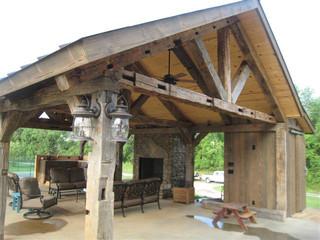Vintage Barn Beam Pavilion