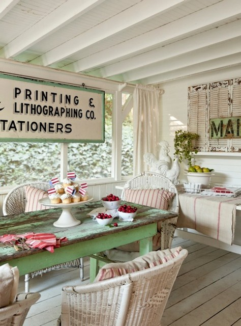 Vintage-Inspired Inglewood Cottage traditional patio