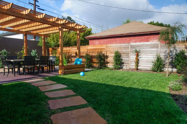 W. LA Backyard Makeover on Backyard Patio Makeover id=18371