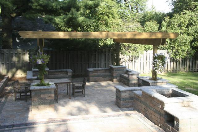 Wackerman contemporary-patio