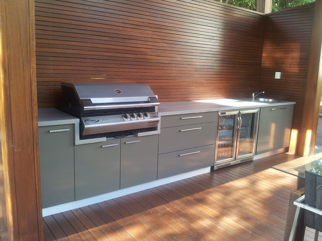 Wahronga bbq area for Kitchen designs newcastle nsw