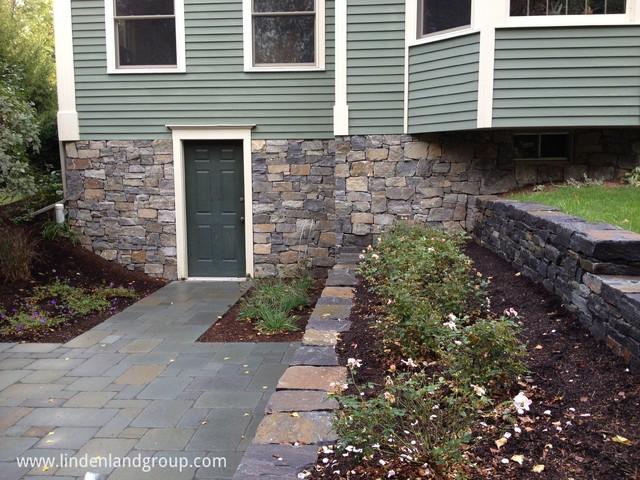 Walk Out Basement Patio And Retaining Walls Contemporary Patio Burlington By Linden L A N D Group Houzz Au