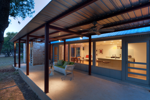 Walkabout Exterior Contemporary Patio Austin By