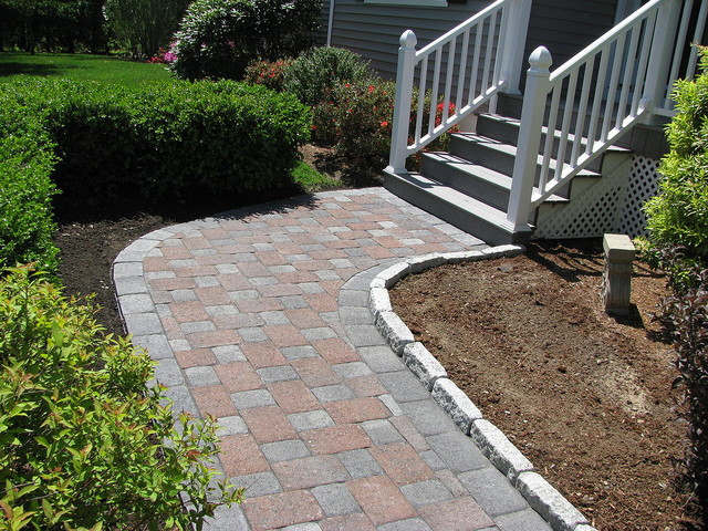 Walkways and Patios traditional-patio