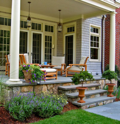 Warner Larson Landscape Architects - Private Residence traditional-patio