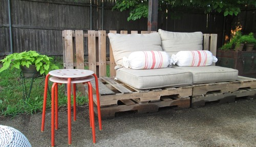 Also try searching for used fire bowls, patio furniture and big planters.  You won't know what's out there unless you look. - 10 Ways To Update Your Outdoor Space - AOL Finance