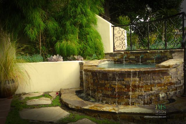Water Features Mediterranean Patio Los Angeles By