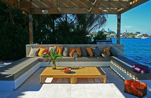 Water Garden Oasis Modern Patio Miami By Lewis