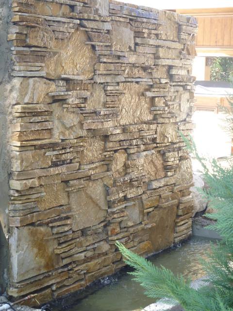 Water wall water feature fountain by matthew giampietro for Wall water fountain