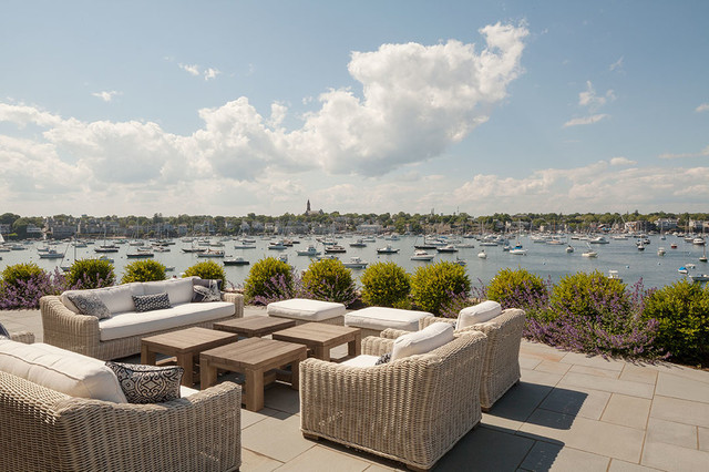 Waterfront Home Beach Style Deck Boston By Groom