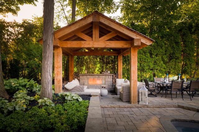watson drive traditional patio toronto by cedar springs