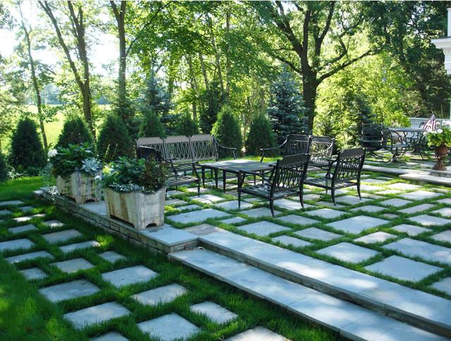 Wayzata MN BlueStone Patio contemporary-patio