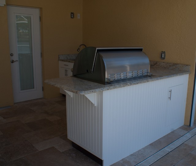 Outdoor Kitchen Cabinets Polymer: Weatherproof Polymer Cabinetry In Southwest FloridaOutdoor