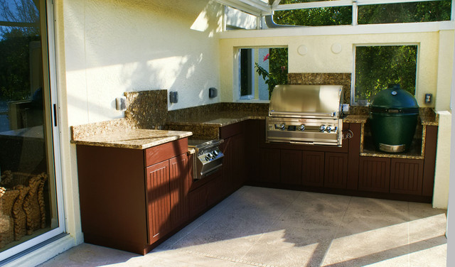 Weatherproof Polymer Cabinetry In Southwest FloridaOutdoor
