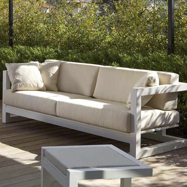 weekend sofa and lounge chair contemporary patio. Black Bedroom Furniture Sets. Home Design Ideas