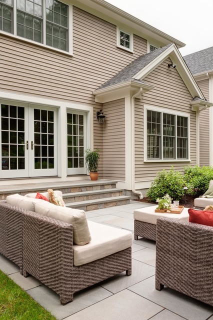 Wellesley master plan traditional patio boston by for Houzz landscape architects