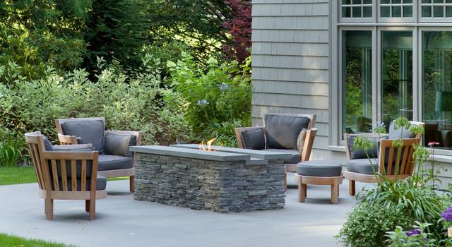 Wellesley Residence traditional-patio