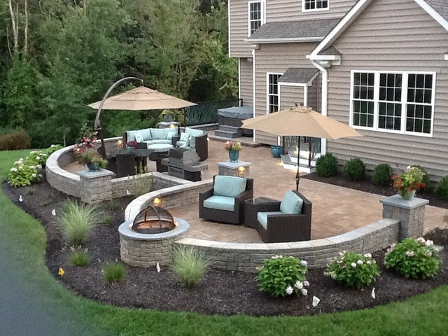 West Friendship MD Contemporary Patio Baltimore