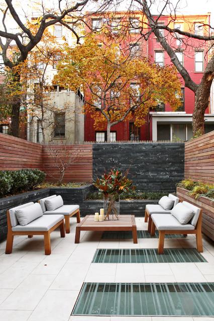 Townhouse Backyard Patio Ideas : West Village Townhouse NYC modernpatio