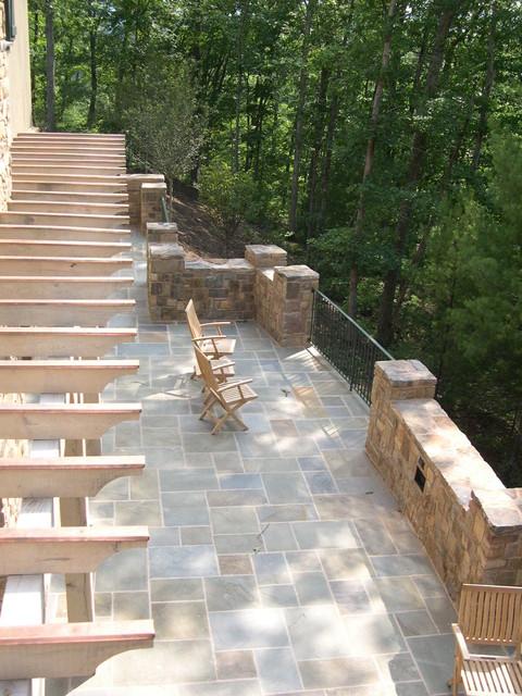 West Virginia traditional-patio