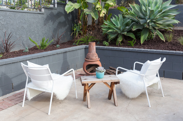 westchester rehab midcentury patio other by carley