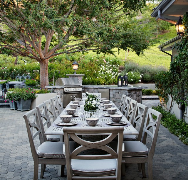 Westlake Village French Provincial Traditional Patio Los Angeles By Model Design Inc