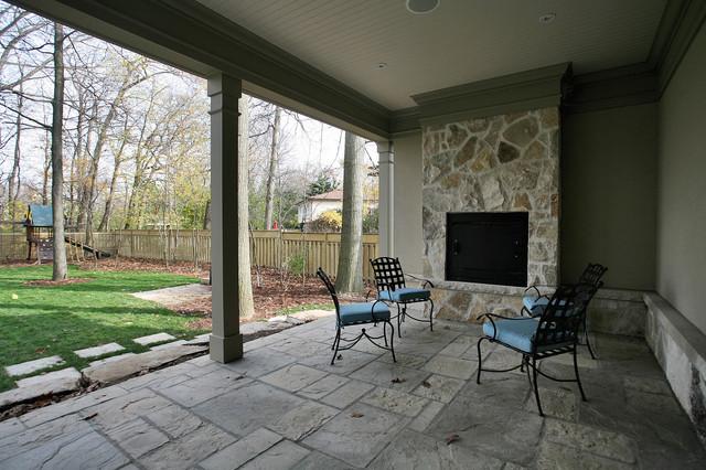 White Oak Ave traditional-patio