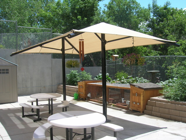 Wicked Shade Projects Eclectic Patio Salt Lake City