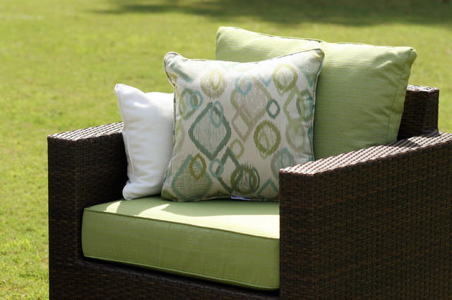 Inspiration for a contemporary patio remodel in Other. Save Photo. Cushion  Source · 236 Reviews · Wicker Furniture Cushions - Wicker Furniture Cushions Houzz