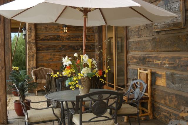 Wildhorse Ranch traditional-patio