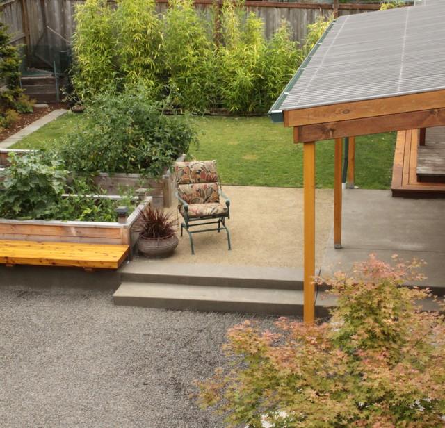 Wiley Garden traditional-patio