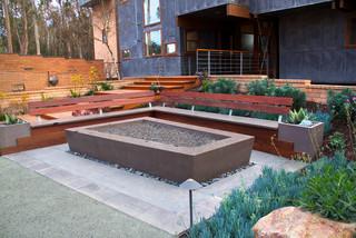 Wilkes Residence Contemporary Patio San Luis Obispo