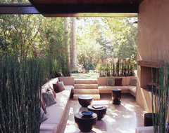 William Hefner Architecture modern patio