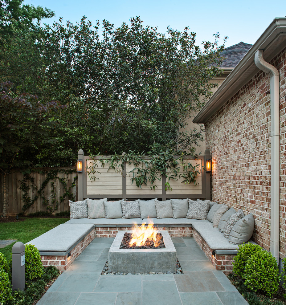 Wilmington Court - Fire Pit - Traditional - Patio ...
