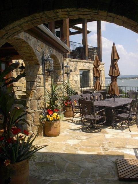Wilson Cabana traditional-patio