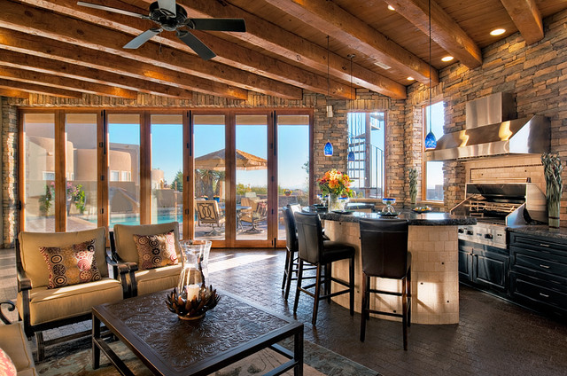 Windows and doors for new construction in Boise traditional-patio