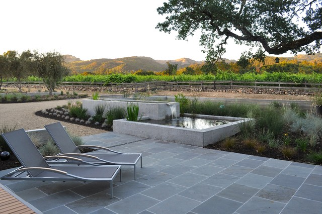 Wine Country Patio And Water Feature