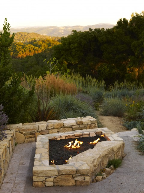 Wine Country Residence contemporary-landscape
