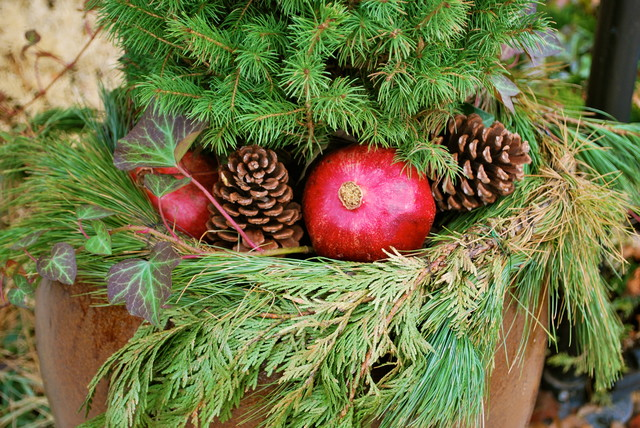 Last-Minute Ideas for Stylish Winter Container Designs