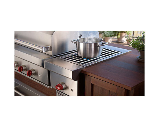 """Wolf 13"""" Side Burner Module, Stainless Steel Natural Gas 