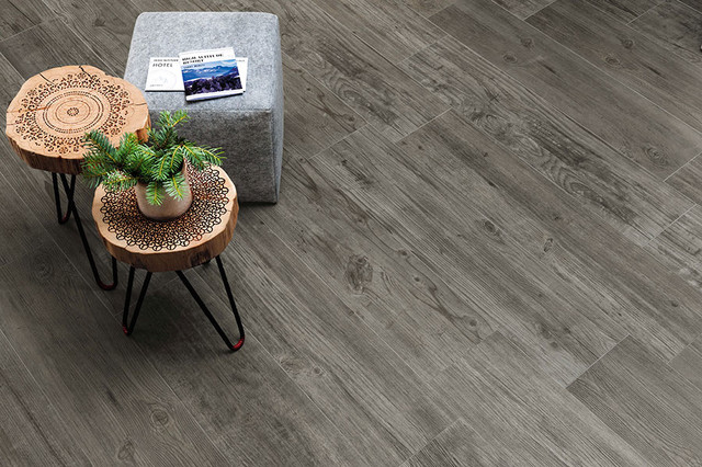 Wood Porcelain Tiles Contemporary Patio Miami By