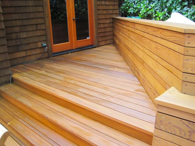 Wood Refinishing 8 traditional-patio