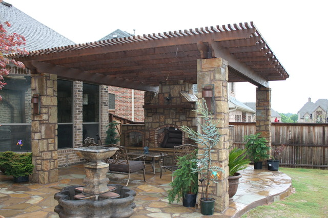 Wood Springs contemporary patio
