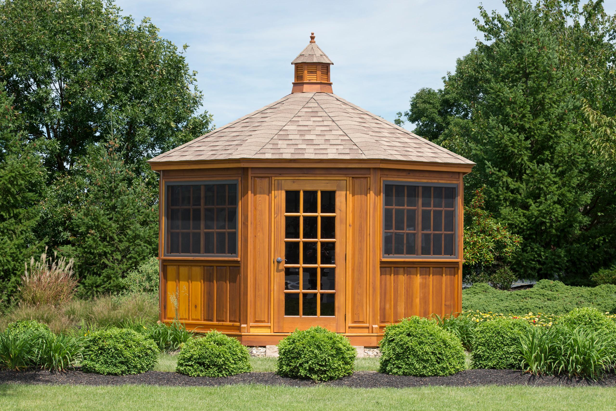 Wooden Pavilions, Gazebo's & Pergola's