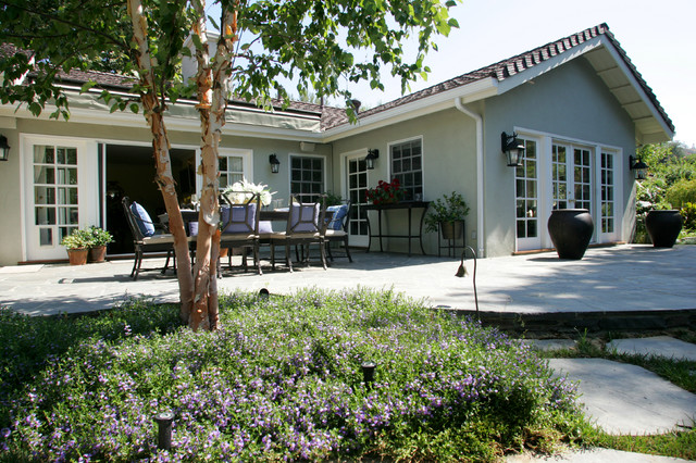 Woodland Hills Traditional Exterior and Hardscaping Remodel traditional-patio