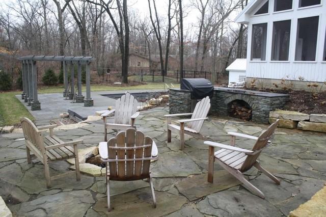 Woodland Retreat contemporary-patio