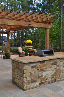 Woodstock Home - Traditional - Patio - Atlanta - by Personal Touch Lawn Care