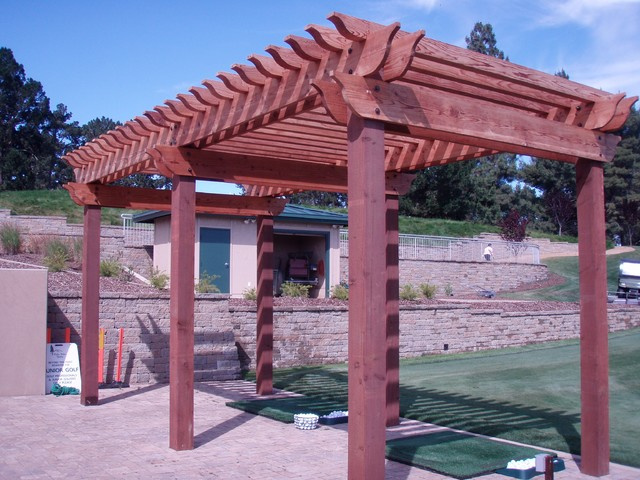 WoodWork Projects traditional-patio